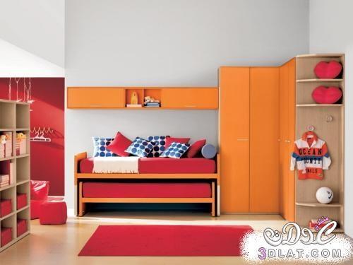 غرف نوم اطفال مساحات صغيرة , غرف اطفال ضيقة , افكار جديدة لغرف نوم