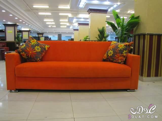 الكنبه السرير بالوان زاهيه وجذابه الكنبه 3dlat.net_04_17_33b1