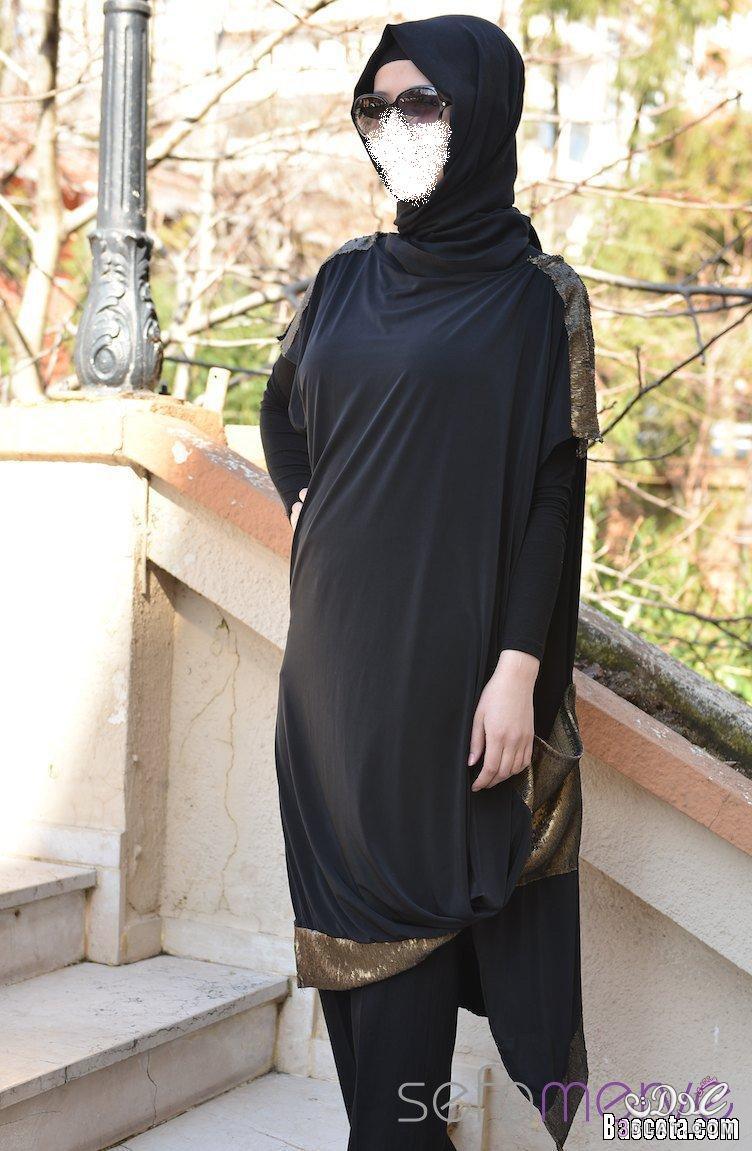 f43ff5cc845d8 ازياء المحجبات شيك جدا 2020 احلى ملابس المحجبات 2020 - وردة وفولة