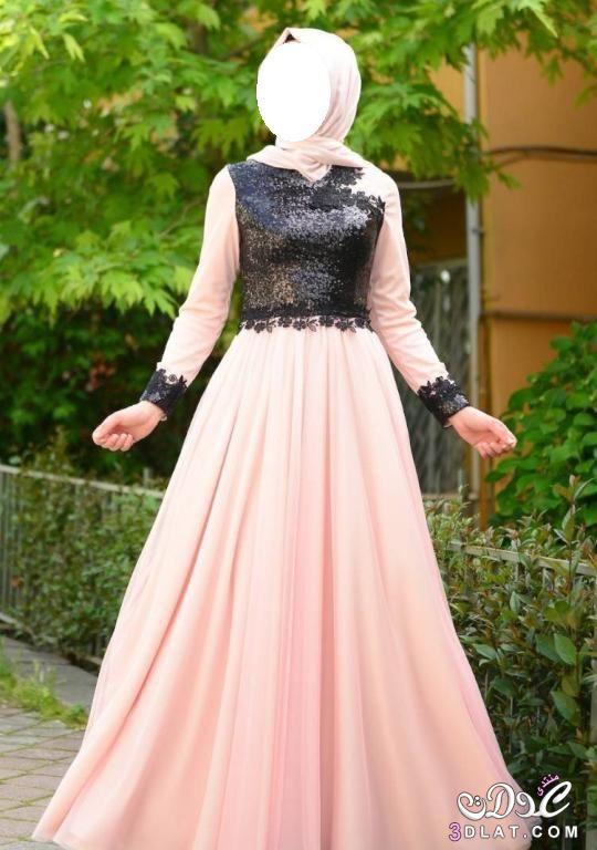 b29cdba6d فساتين انيقه 2020 اجمل الفساتين للمحجبات فساتين بتصاميم رائعه 2020 ...