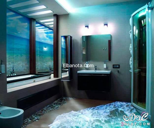 غرف حمام ثلاثية الابعاد تراها عقلك ينتحر 3dlat.net_06_15_8692