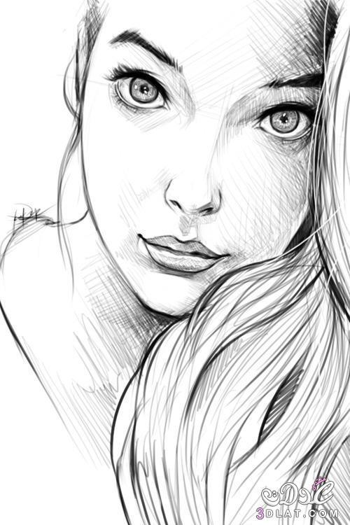 رسم انمي حبيبين