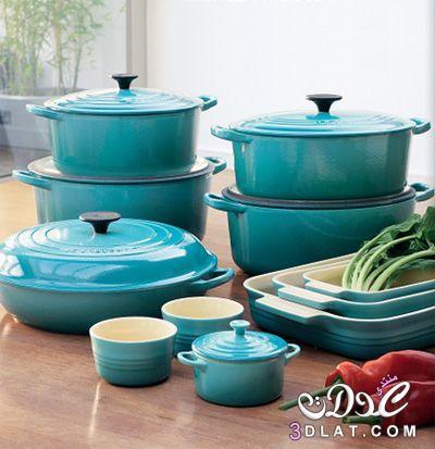 أدوات مطبخ بألوان جميلة,أدوات طبخ باللون التركواز والروز روعه,أجهزة منزلية رقيقة 2015 3dlat.net_07_15_5224