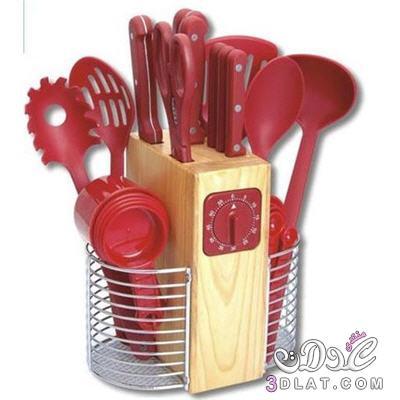 ادوات مطبخيه روعيه باللون الاحمر , صور اجمل ادوات مطبخيه , جمال الاحمر فى المطبخ 3dlat.net_08_15_2627