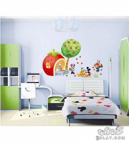 ملصقات غرف نوم الاطفال 2015 ملصقات راقية للاطفال 3dlat.net_08_15_dc35
