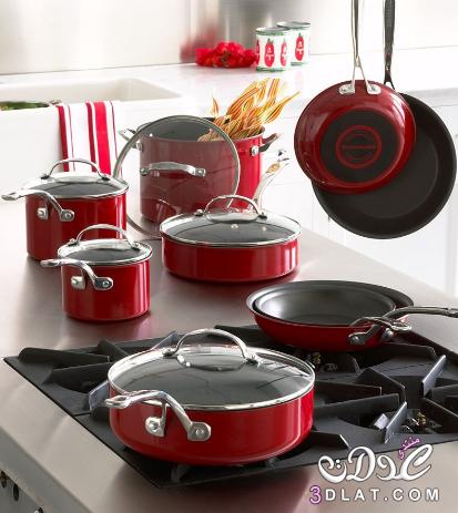 ادوات مطبخيه فخمه , صور اشيك ادوات مطبخيه 2015 , ادوات مطبخيه باللون الاحمر 2015 3dlat.net_08_15_dd4d