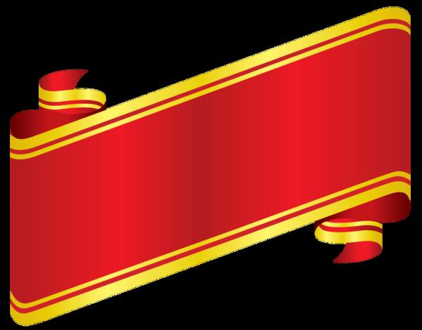 سكرابز شرائط حمراء للتصميم