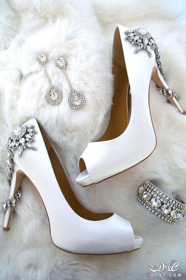 6f112b9ba موديل مميز من أحذية عروس 2020. - زاهرة الياياسمين