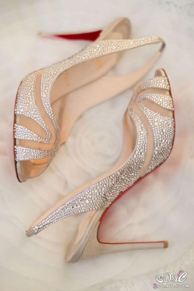 ebe49f1b5 موديل مميز من أحذية عروس 2020. - زاهرة الياياسمين
