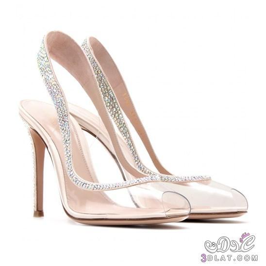 36a4a91e1c00a أجمل الأحذية الشفافة أحذية 2020 2020 تألقي بالأحذية الشفافة أحدث ...