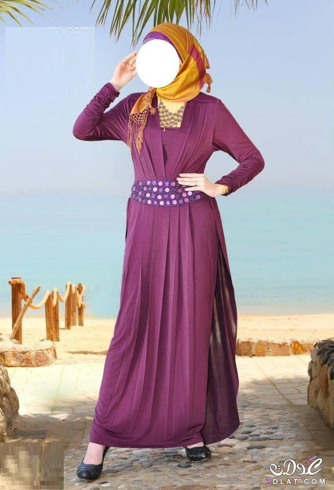 e764137b3 موديلات أنيقة و جذابة للمحجبات، ملابس للمرأة المحجبة - NINAKAHINA