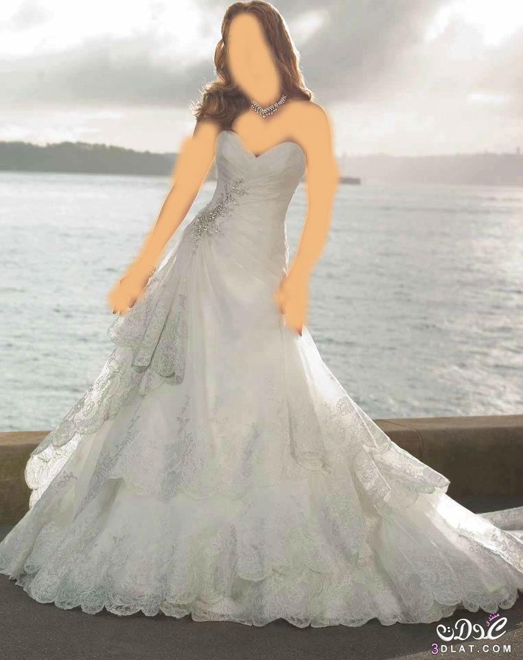 فساتين زفاف 2015 بتصميمات رائعه فساتين 2015 مطرزه بالؤلؤ والاكسسوارات 3dlat.net_09_15_b0f3