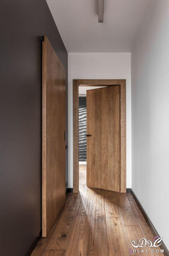 ابواب غرف بيتك ابواب خشب داخلية مودرن 2019 تصميمات فرنسية