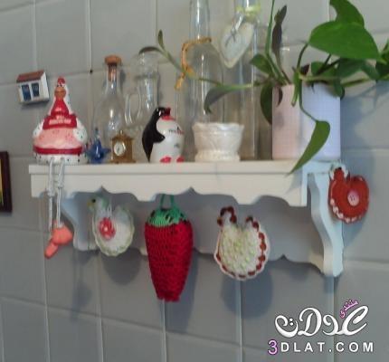 أشكال كروشية لتزيين المطبخ زيني مطبخك بابداعات