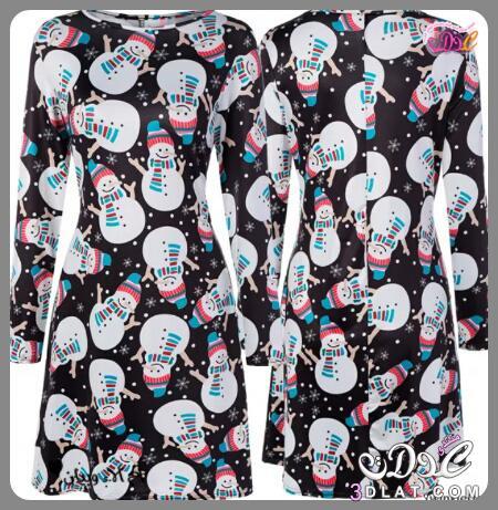 فساتين شتوية تحمل رموز السنة,اجمل الفساتين 3dlat.net_10_16_9df2