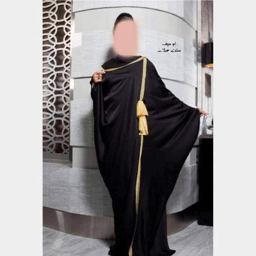 أرقى عبايات للمحجبات باللون الأسود 2018 عبايات رائعة للمحجبات,عبايات محجبات مميزة