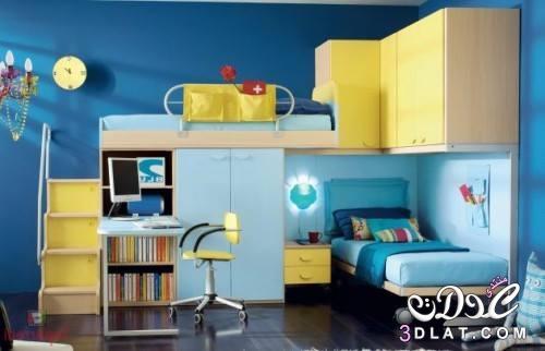 غرف نوم اطفال 2020 غرف نوم اطفال ولادى 2020 ديكورات غرف نوم