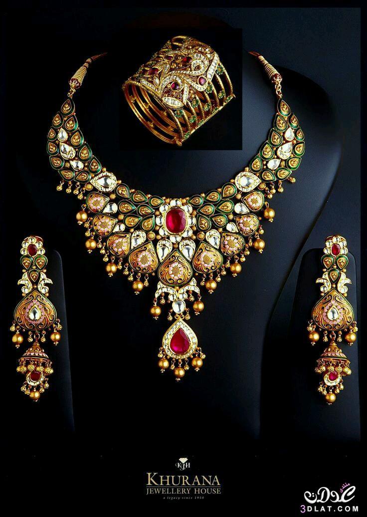 #صور اجمل اطقم مجوهرات هندية للعروسة 2017 3dlat.net_11_17_c4df