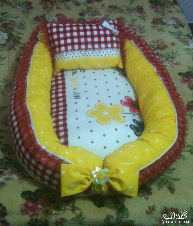 #صور [اعمالي] بورت وسرير للبيبي من أعمالي ,طريقة عمل بورت وسرير للأطفال سهل وبسيط 2017 2017 3dlat.net_11_17_e5e4