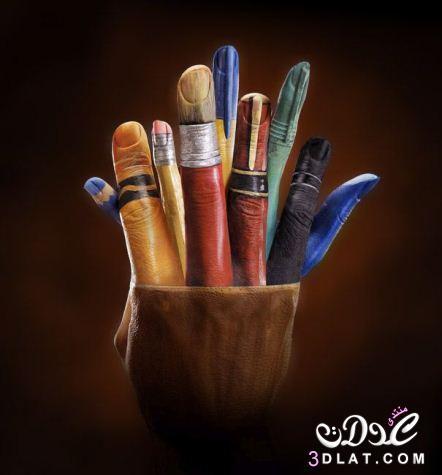 رسومات رائعة على اليد اجمل الرسومات ابداع