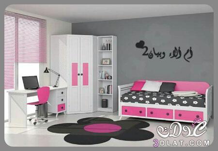 غرف نوم رائعة للبنات والاولاد بلمسة شبابية,اجمل غرف النوم للشباب