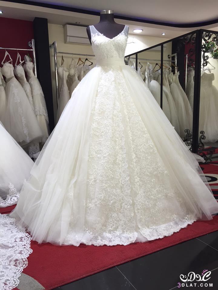 f9f9ddea6dbcf صور فساتين زفاف في منتهي الجمال 2020
