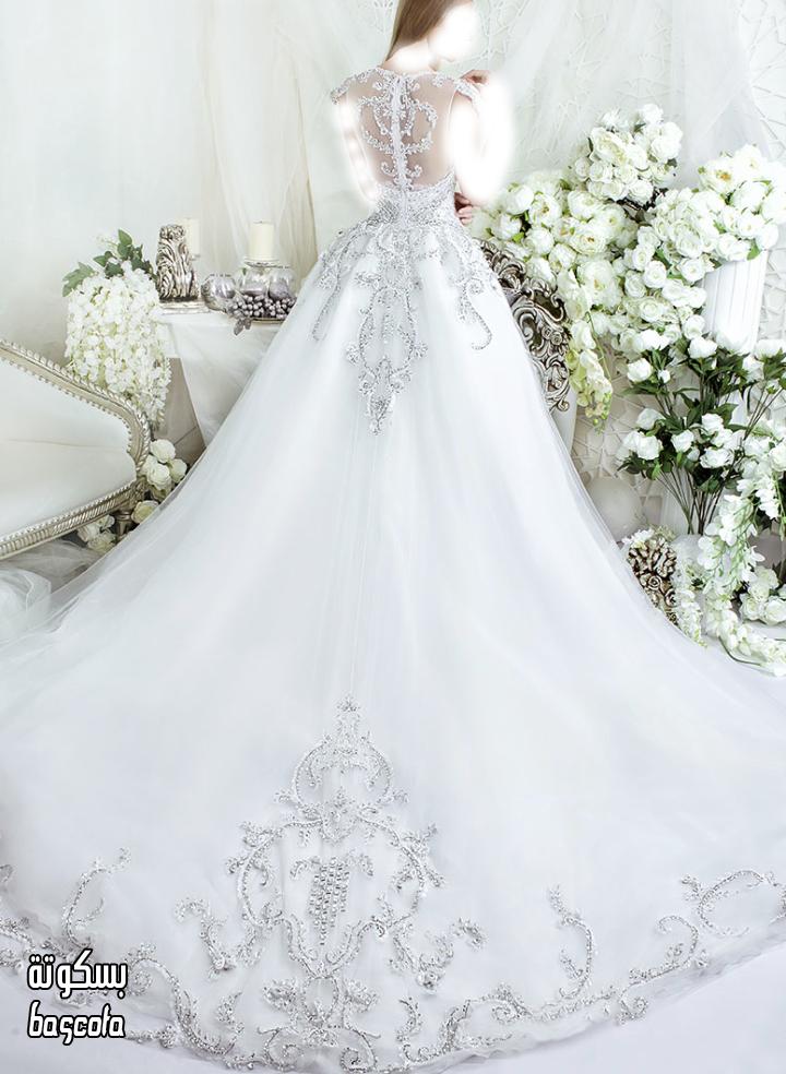ساتين زفاف فخمه  2015 ,مرصعة بالكريستال والؤلؤ  3dlat.net_13_15_bb5a_img-1412955848-586