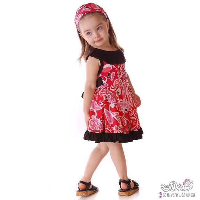 f843cf231 فساتين صيفية للأطفال روعة , فساتين أطفال 2020 - دلوعة مسموعة