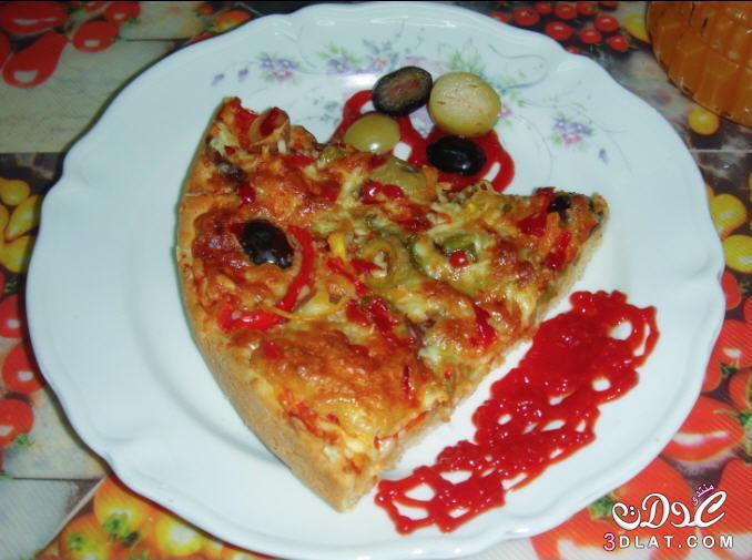 افضل طريقة لعمل البيتزا 2018 ومقادير 3dlat.net_14_17_139a
