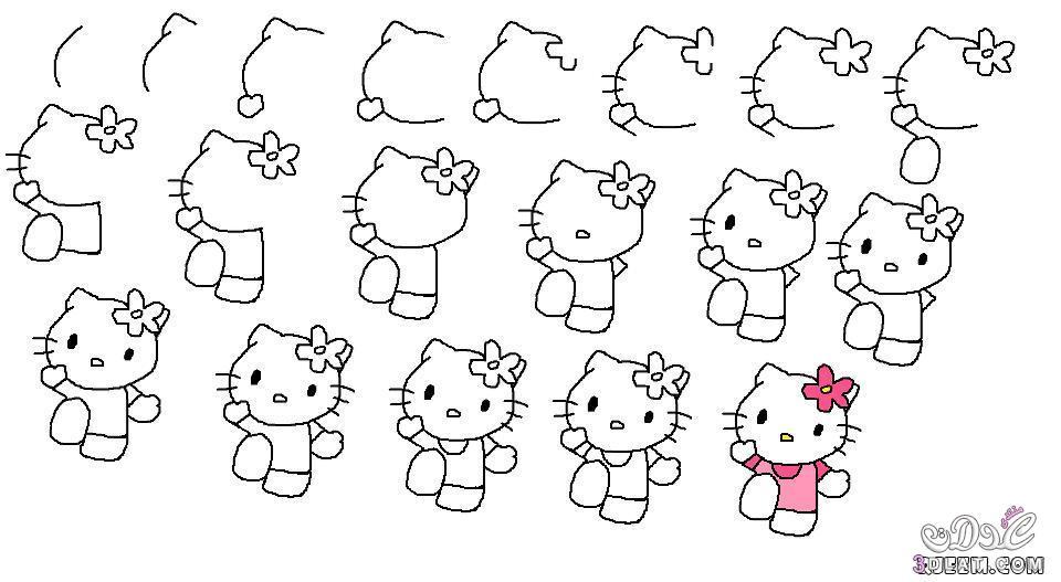 علمي طفلكِ الرسم خطوة بخطوة سهلة 3dlat.net_14_17_8763