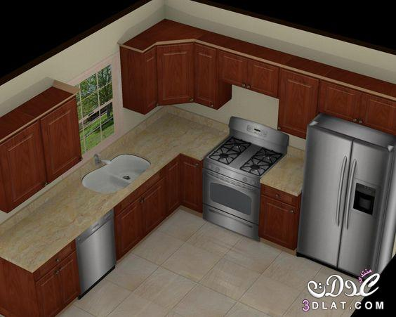 50afe5b00 تصاميم مطابخ حديثة بسيطة 2020, مطابخ للمساحات الصغيرة, ديكورات مطابخ ...