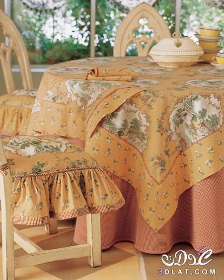 أغطية طاولات جميلة جدا مفارش طاولات منوعة  من تجميعي 3dlat.net_15_14_e3b3