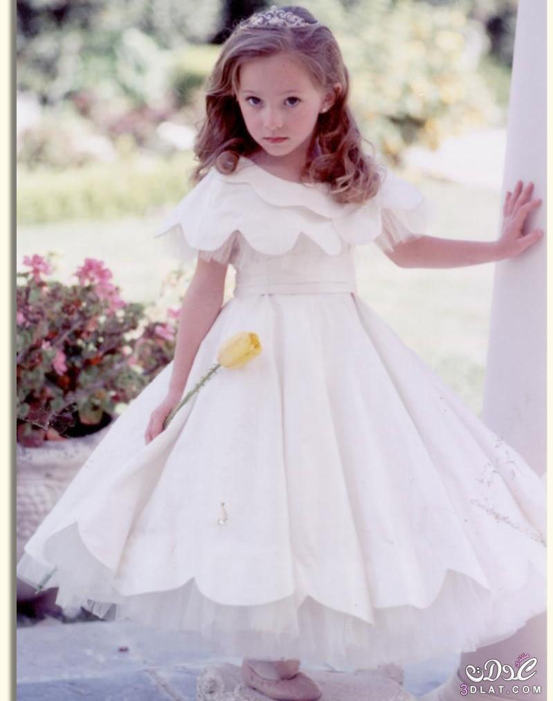 cc510dc63 فساتين بنات صغار للافراح باللون الابيض و الاحمر ، اختاري افضل لبس ...