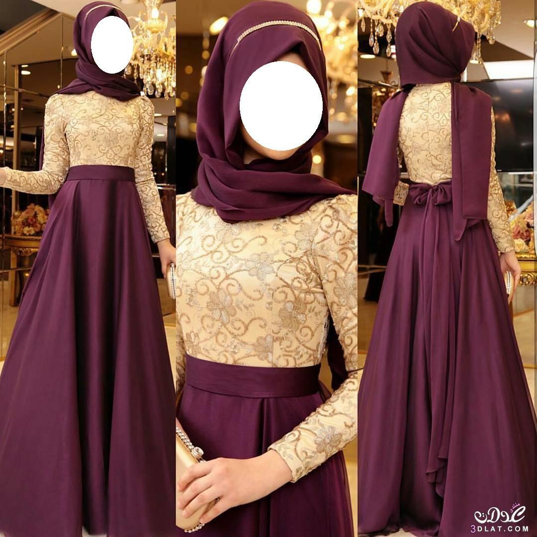 فساتين سهرات للمحجبات، كوني أميرة بحجابك، 3dlat.net_15_17_9f3a