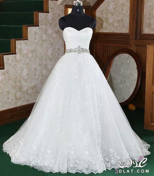 797fe36bdac11 فساتين زفاف موضة 2020
