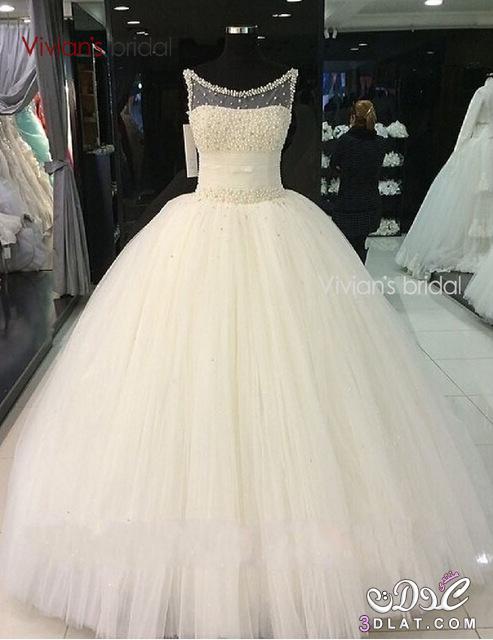 ff36141ae فساتين زفاف مصرية جديدة2020 , فساتين افراح منفوشة , فساتين زفاف روعة ...