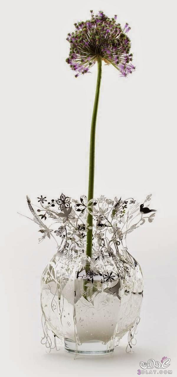 فازات للزهور روعه,فازات للزهور غريبه الشكل ,أجدد تصاميم المزهريات 2وأنيات الزهور 2015 3dlat.net_17_14_bde4