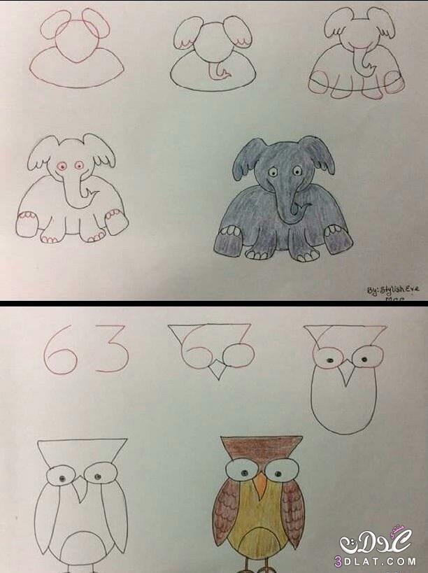 علمي طفلك كيفية الحيوانات سهلة لتعليم 3dlat.net_17_16_d69a
