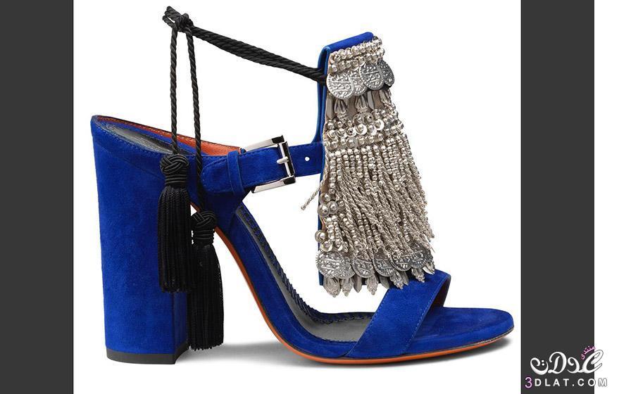 """صور أحذية """"سانتوني"""" الجديدة مستوحاة من مراكش وفن الأرابيسك ، أحذية غريبة 2017"""