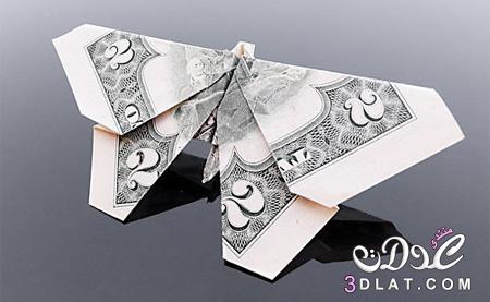 مجسمات من أوراق نقدية 3dlat.net_18_15_2dae