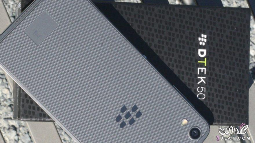 بلاك بيري تكشف عن هاتف dtek50 وتدعي انه أكثر هواتف أندرويد أماناً بالعالم coobra.net