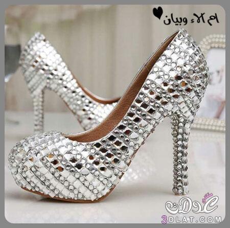 41819c476 احذية رائعة لعروس 2020,اجمل موديلات الاحذية للعروس,كولكشن احذية للعروس