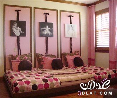 ديكورات متنوعه لغرف البنات ,احلى و اشيك غرف نوم للصبايا , ديكورات