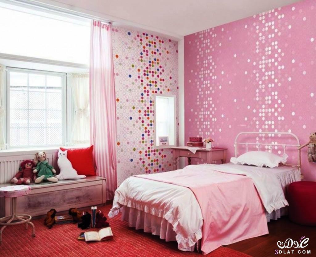 ديكورات متنوعه لغرف البنات ,غرف روعه للبنات , غرف نوم للبنات
