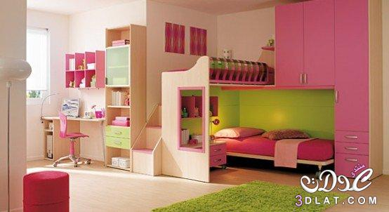 ديكورات غرف نوم اطفال ملونه اجمل غرف نوم الاطفال ديكورات واصباغ