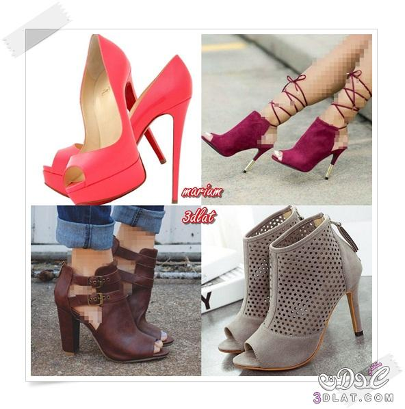 96f3bcf9f ١٨ نوع من أحذية الكعب العالي على كل امرأة أنيقة معرفتها - مريم ملوكة