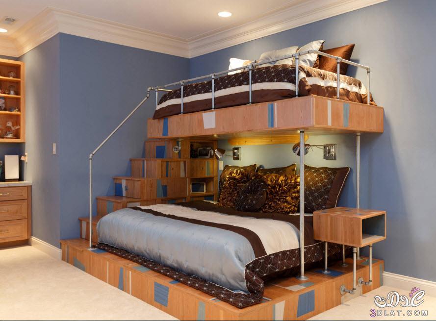 اكبر مجموعة غرف نوم اطفال بسراير دورين حصريا, غرف نوم اطفال بسراير