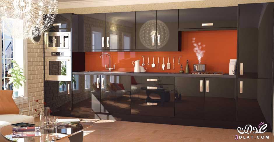 Top Kitchen Designs 2013 : مطابخ فخمه بالون الاسود ايكيا سوداء