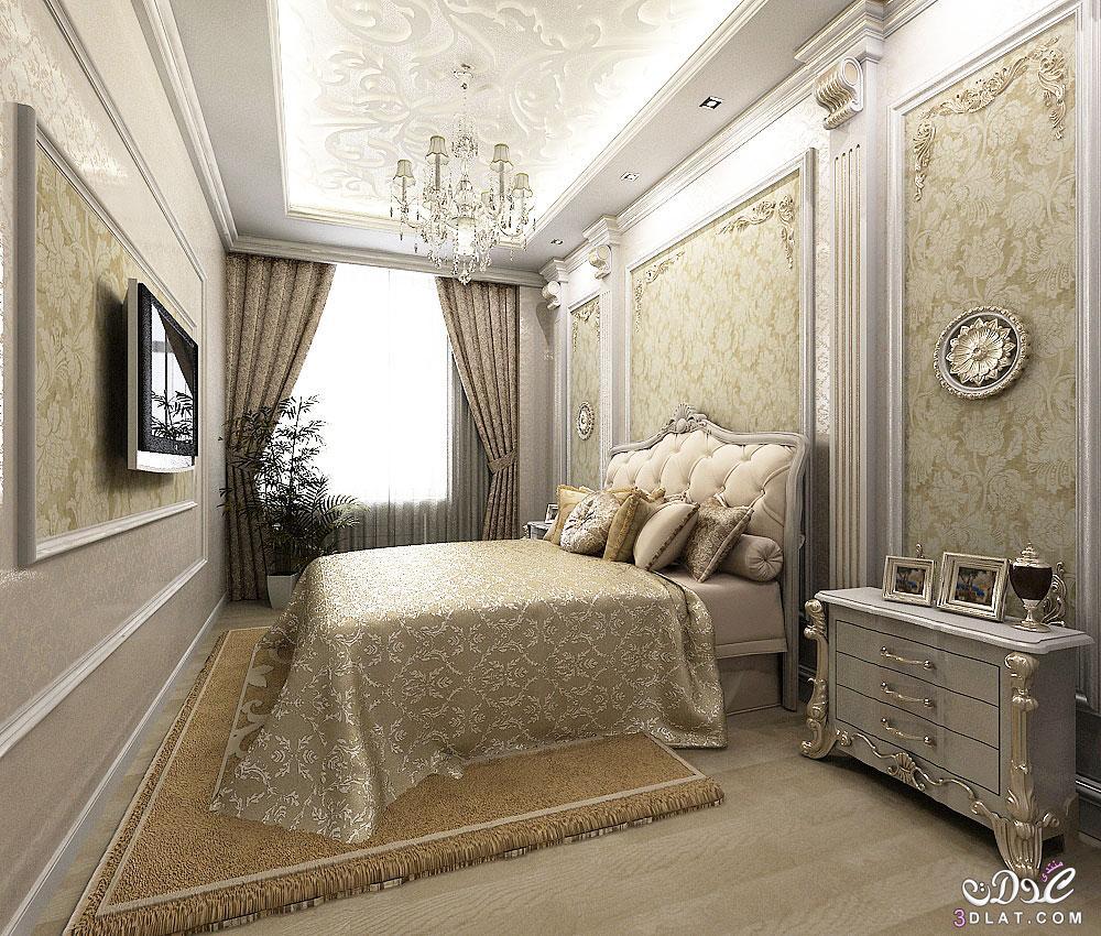 ديكورات غرف نوم 2018,أجمل ديكورات لغرف النوم,غرف نوم كلاسيكيه 2018