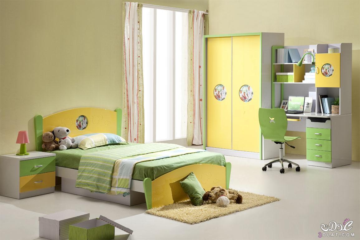 غرف نوم  للاطفال *بنات و اولاد* 3dlat.net_21_15_ca25